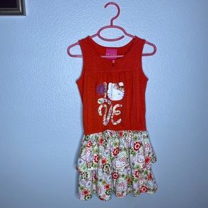 Hello Kitty Sleeveless Dress 5T